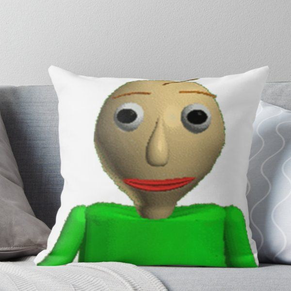 Baldis Basics In Education And Learning Throw Pillow By Revaz