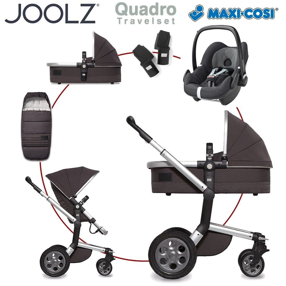 joolz day quadro travelset mit maxi cosi cabriofix baby. Black Bedroom Furniture Sets. Home Design Ideas