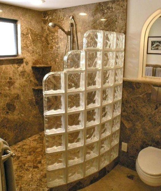 21 Small Walk in Shower Ideas No Door