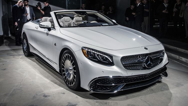 The Most Or Nothing Mercedes Maybach S650 Cabriolet Pushes The