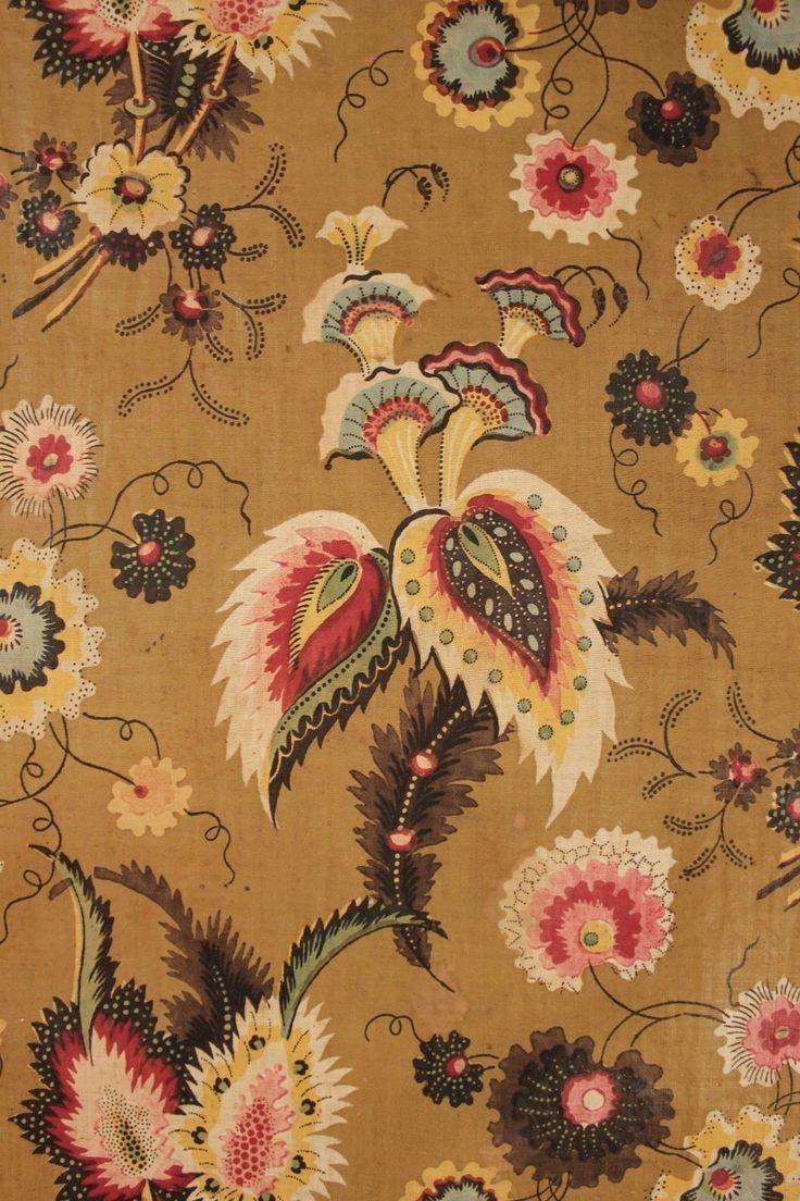 Chintz Chintz Fabric Prints Victorian Wallpaper