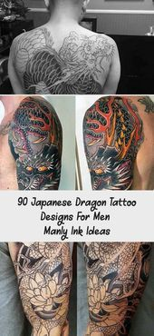 Photo of 90 Japanese Dragon Tattoo Designs For Men – Manly Ink Ideas – Tattoos and Body…