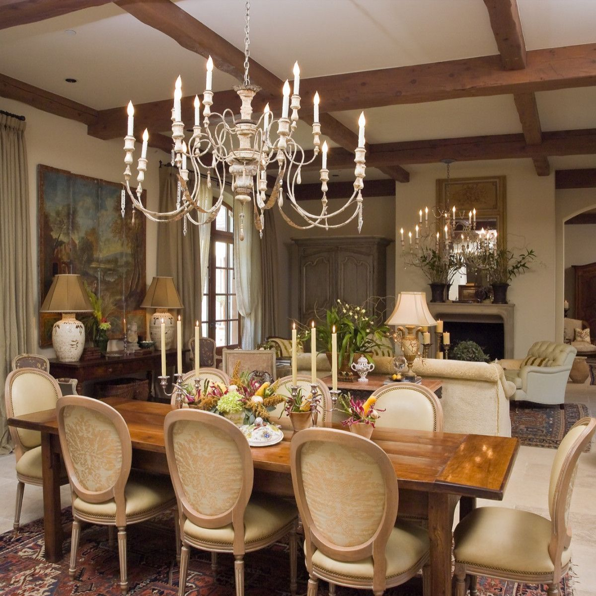 Lifestyle House Dining Room Combo Dining Room Design Rustic Dining Room