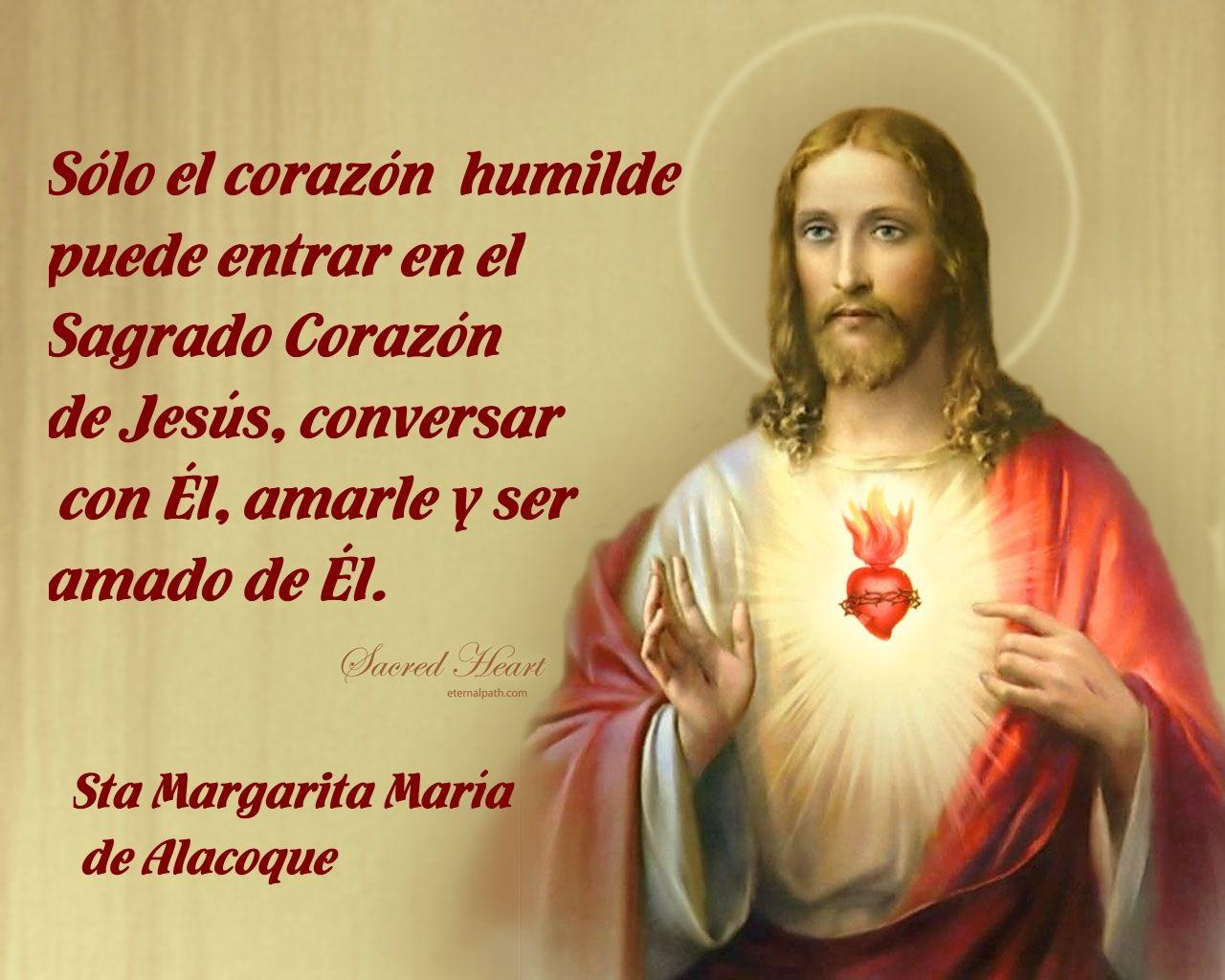 Sagrado Corazón Humilde Frases De Santos Frases De