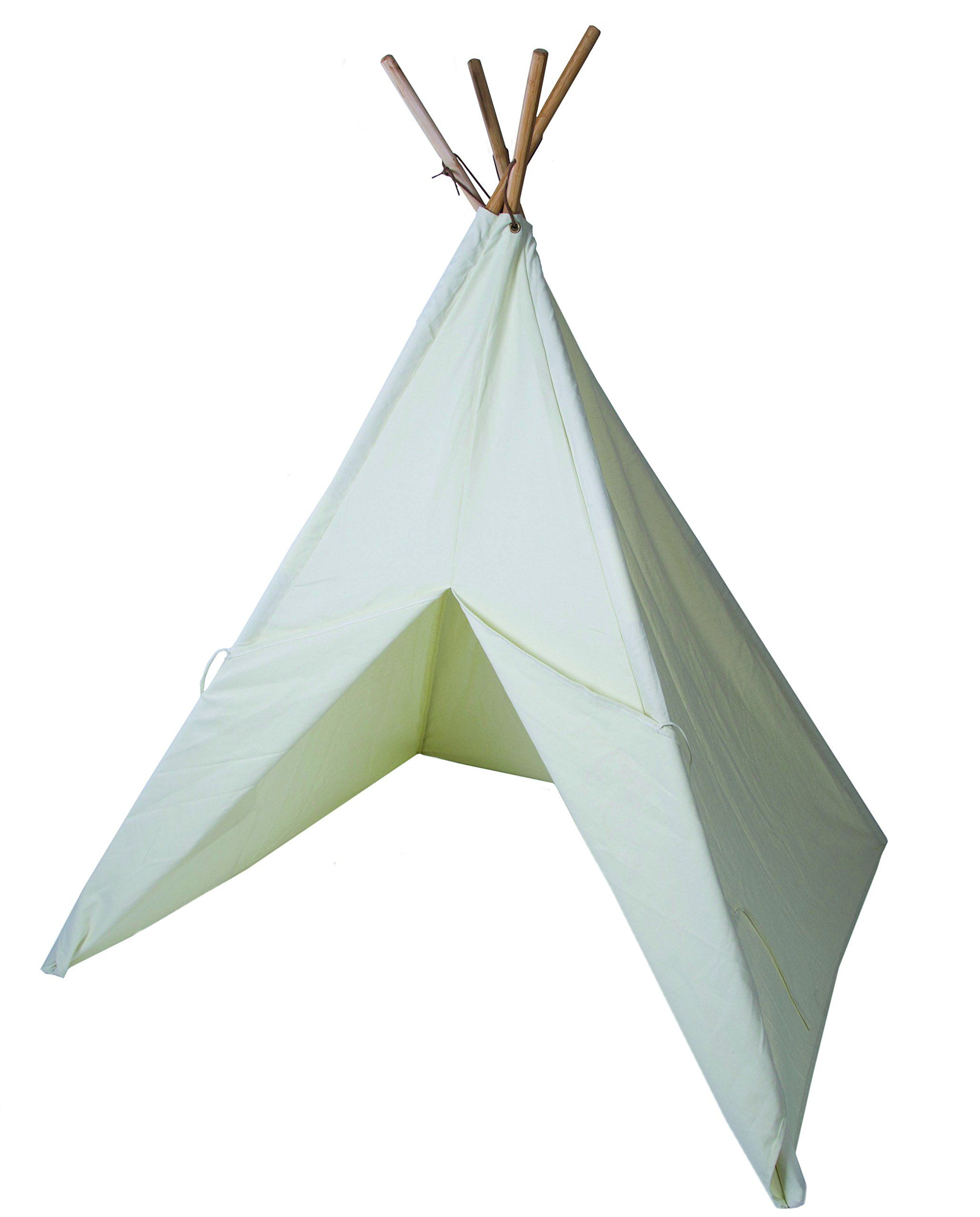 Pacific Play Tents The Painting Cotton Canvas Teepee Canvas