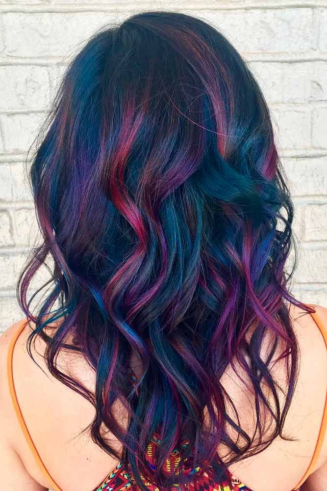 55 Fabulous Rainbow Hair Color Ideas | Hair color for ...