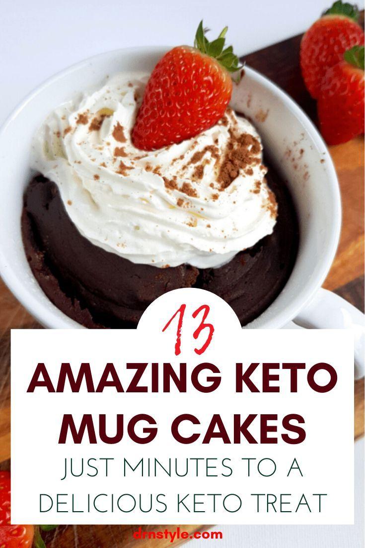 15 Awesome Keto Mug Cakes — DrNStyle ~ Tall Trendy Fashion ...