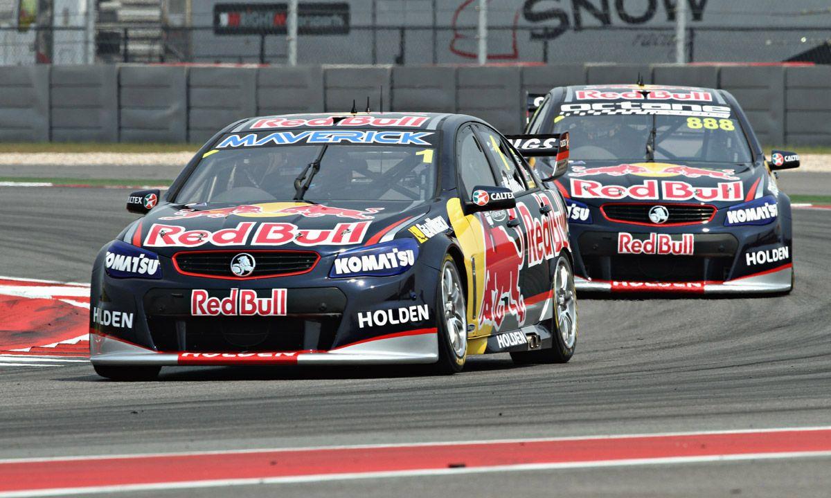 V8 Supercars at COTA Australian v8 supercars, Red bull