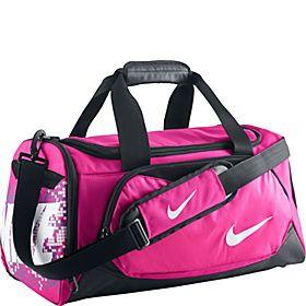 Nike Young Athletes Team Training Small Duffel - Pink Foil Black (White) -  via eBags.com! 68e582e1d1c9d