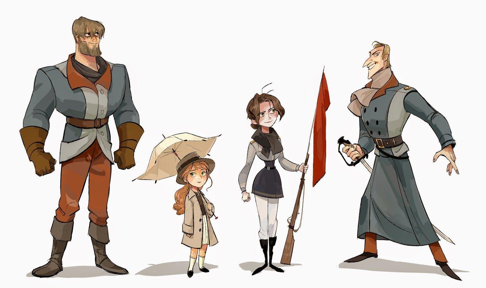 Animation Character Design Portfolio : Mirae works mirae yi character design portfolio character