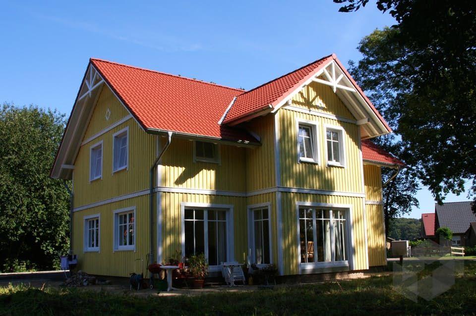 Haus Skandinavischer Stil schwedenhaus svanhild kfw effizienzhaus 55 dammann haus