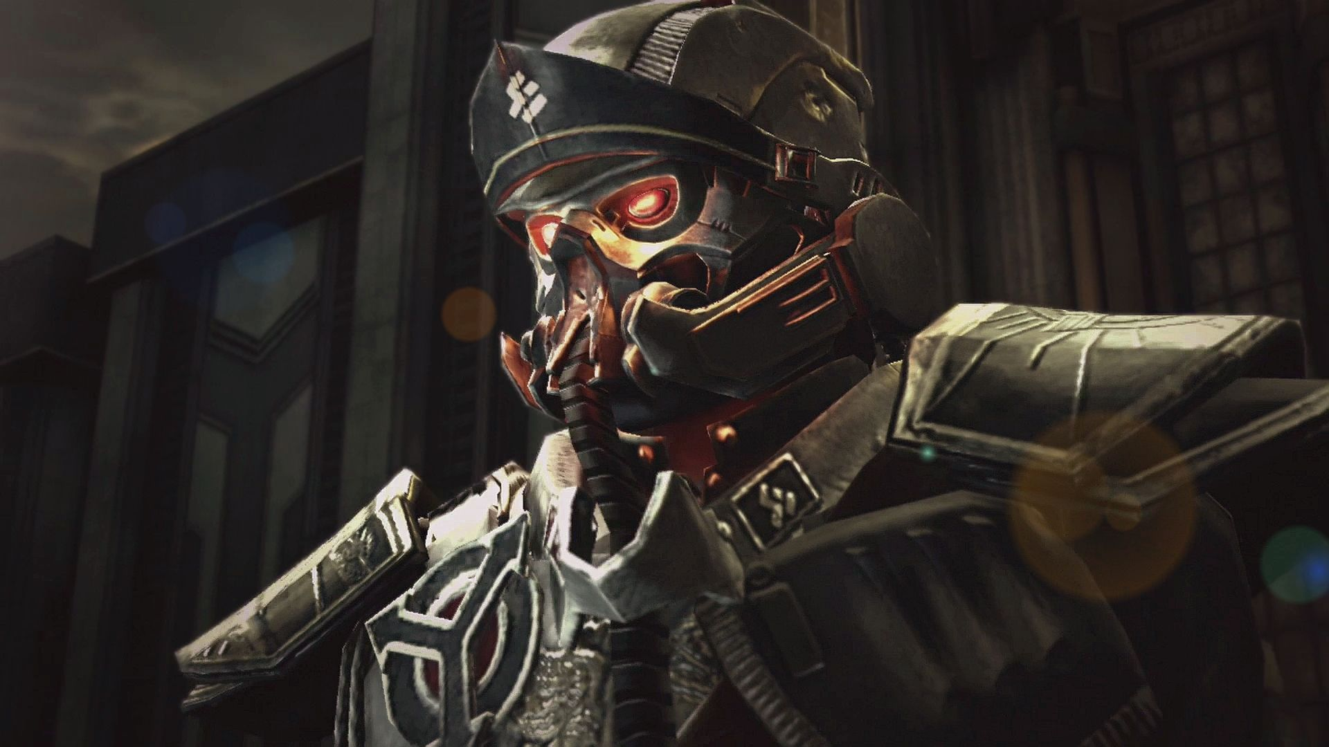 Destiny wallpaper bungie destiny artwork2 jpg - Adorable Killzone Soldier Look Eyes Armor Wallpaper Kuff Games