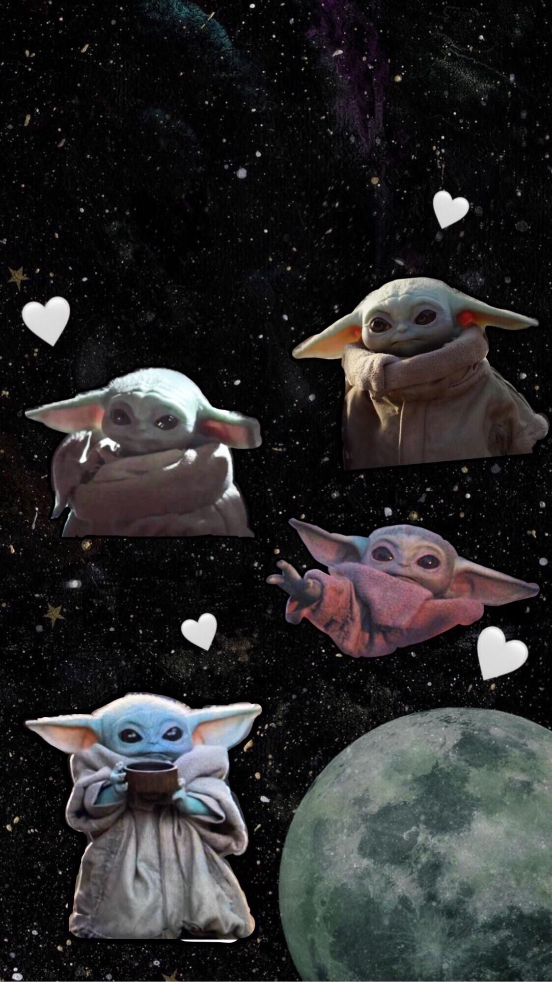 Made A Baby Yoda Lockscreen Wallpaper R Babyyoda Baby Yoda Grogu Yoda Wallpaper Star Wars Wallpaper Star Wars Art