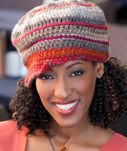 Double Stitch Twins- Top Stitched Hat US terminology | Crochet ...