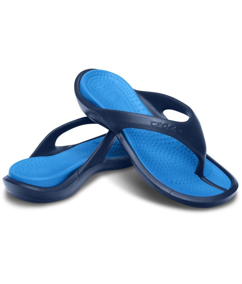 832f8dcc81b222 Crocs Navy Slippers