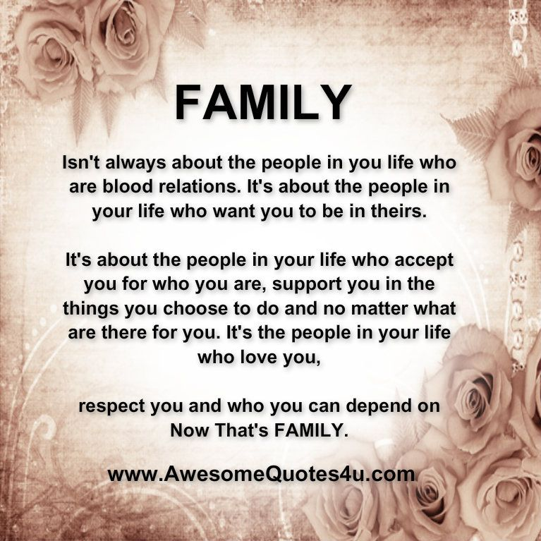 Family is not always blood. Quotes Pinterest The o