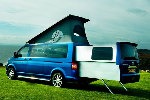 The Doubleback fits a big RV into a small space | Rv, Vw vanagon and ...