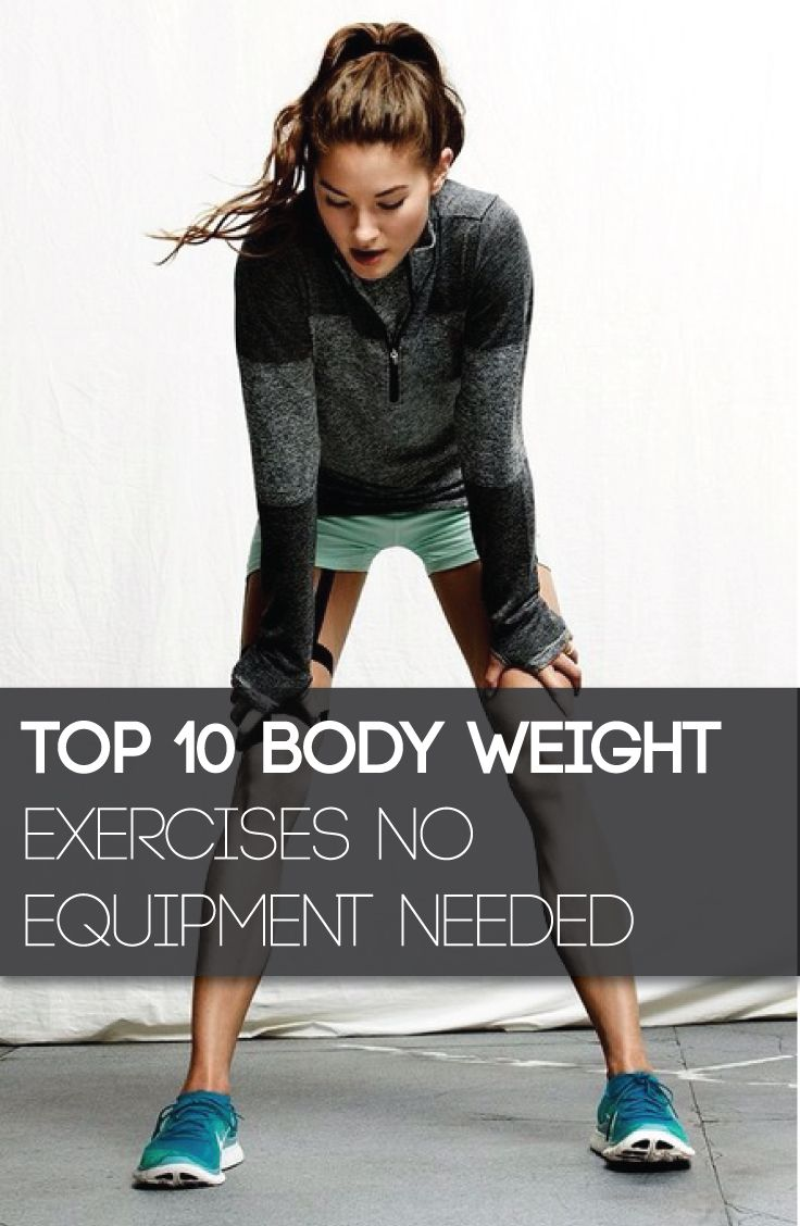 The Top bodyweight exercises that will build strength burn fat