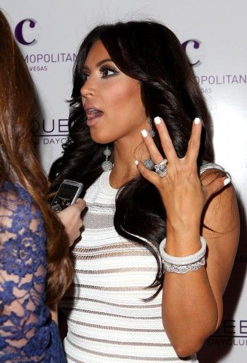 Top 10 Biggest Celebrity Engagement Rings Kim Kardashian Jewelry