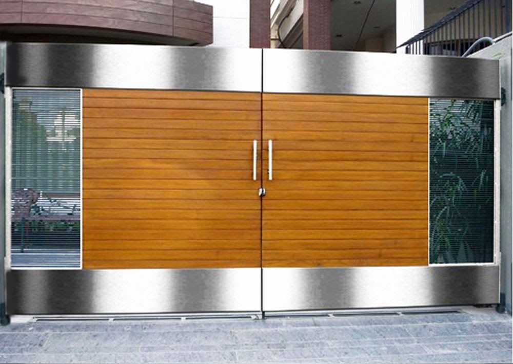Front gates designs design yourself main gate doors pinterest main gate design front gate for Wooden main gate design for home
