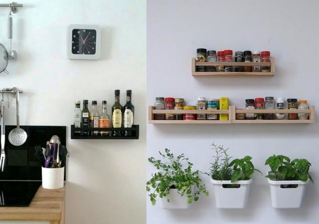 Diy Deco Des Idees Et Des Tutoriels Pour Bricoler Etagere A Epices Ikea Etagere Cuisine