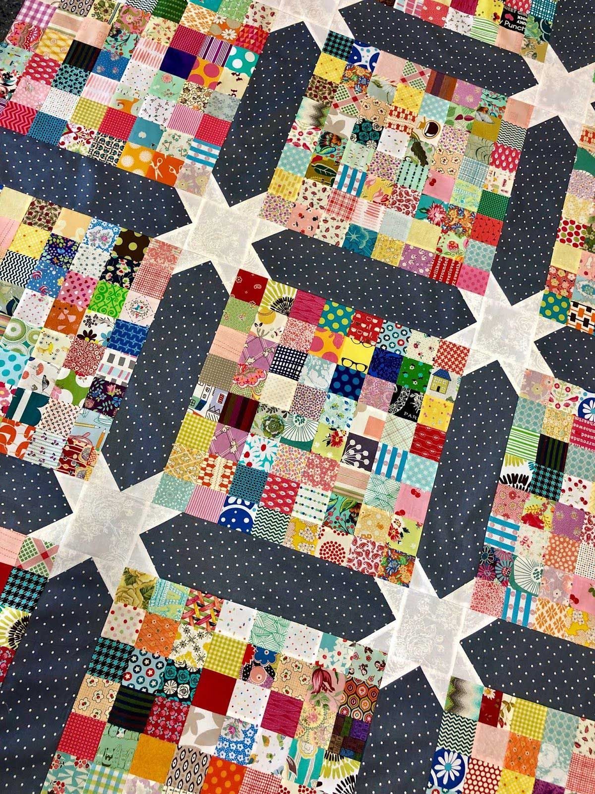 Lovely Postage Stamps Scrappy Quilts Ideas