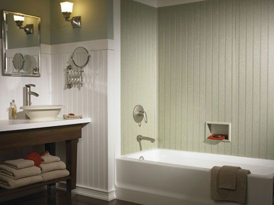 swanstone bathrooms | Swanstone Products: DWP-3696 - Solid Color ...