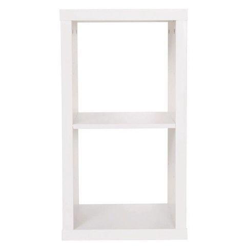 Cube Storage Shelf White
