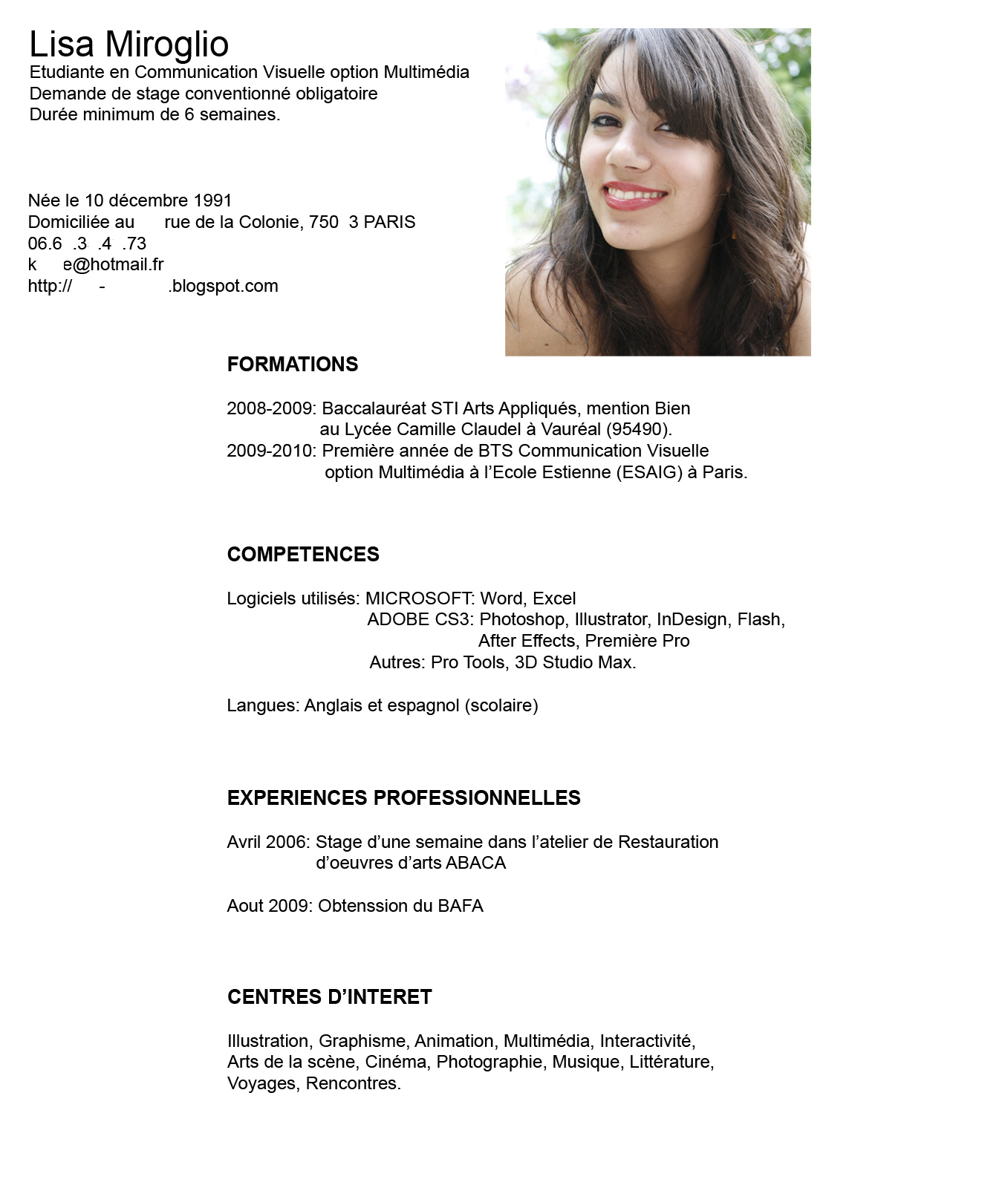 Tu Blog De Formacion Y Orientacion Laboral Cv Modelos De Curriculum Vitae Curriculum Vitae Curriculum Vitae Moderno
