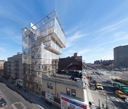 The Lower East Side's Cantilevering Condos Are Really Coming