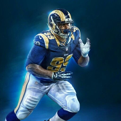 finest selection 291d7 1e9b4 Aaron Donald   Rams   La rams, Football helmets, Sport football