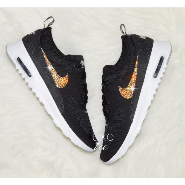 Nike Air Max Thea blackanthracitewhitewolf Grey With Gold