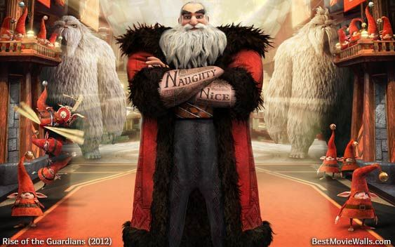 Santa Claus Is More Than A Legend The Best Wallpapers From Rotg Ever Rise Of The Guardians Guardian The Guardian Movie