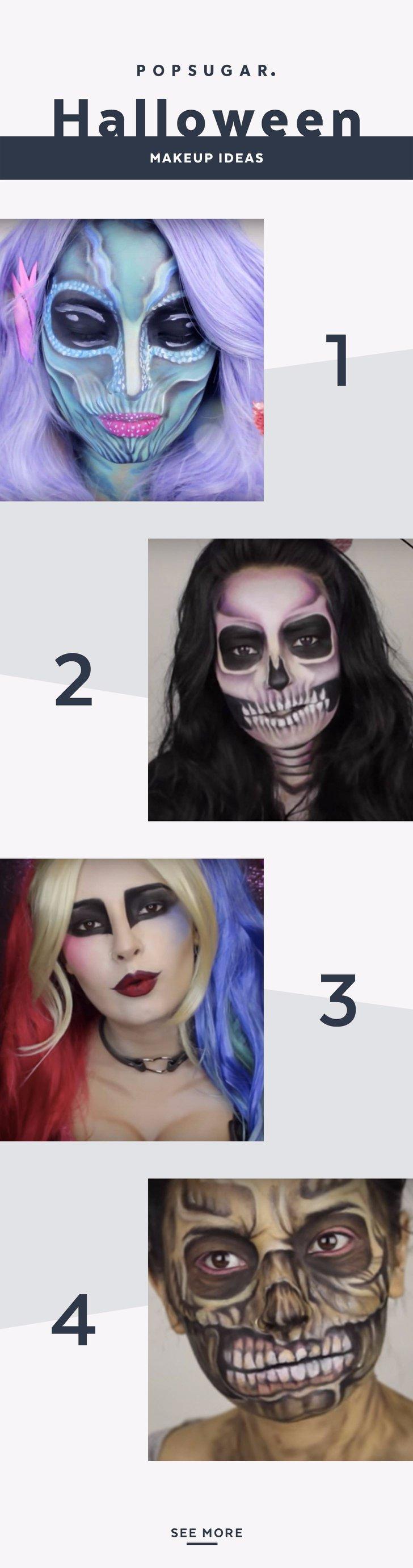 15 of Laura Sanchez's Terrifying Halloween Makeup