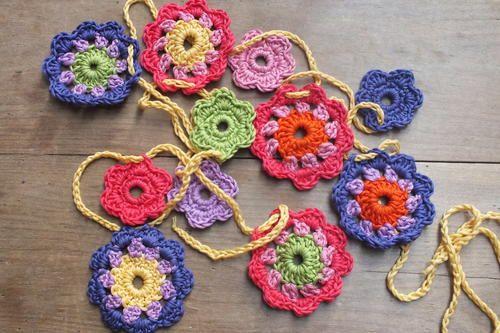 Little Crochet Flowers Crochet Flowers Crochet And Crochet Flower