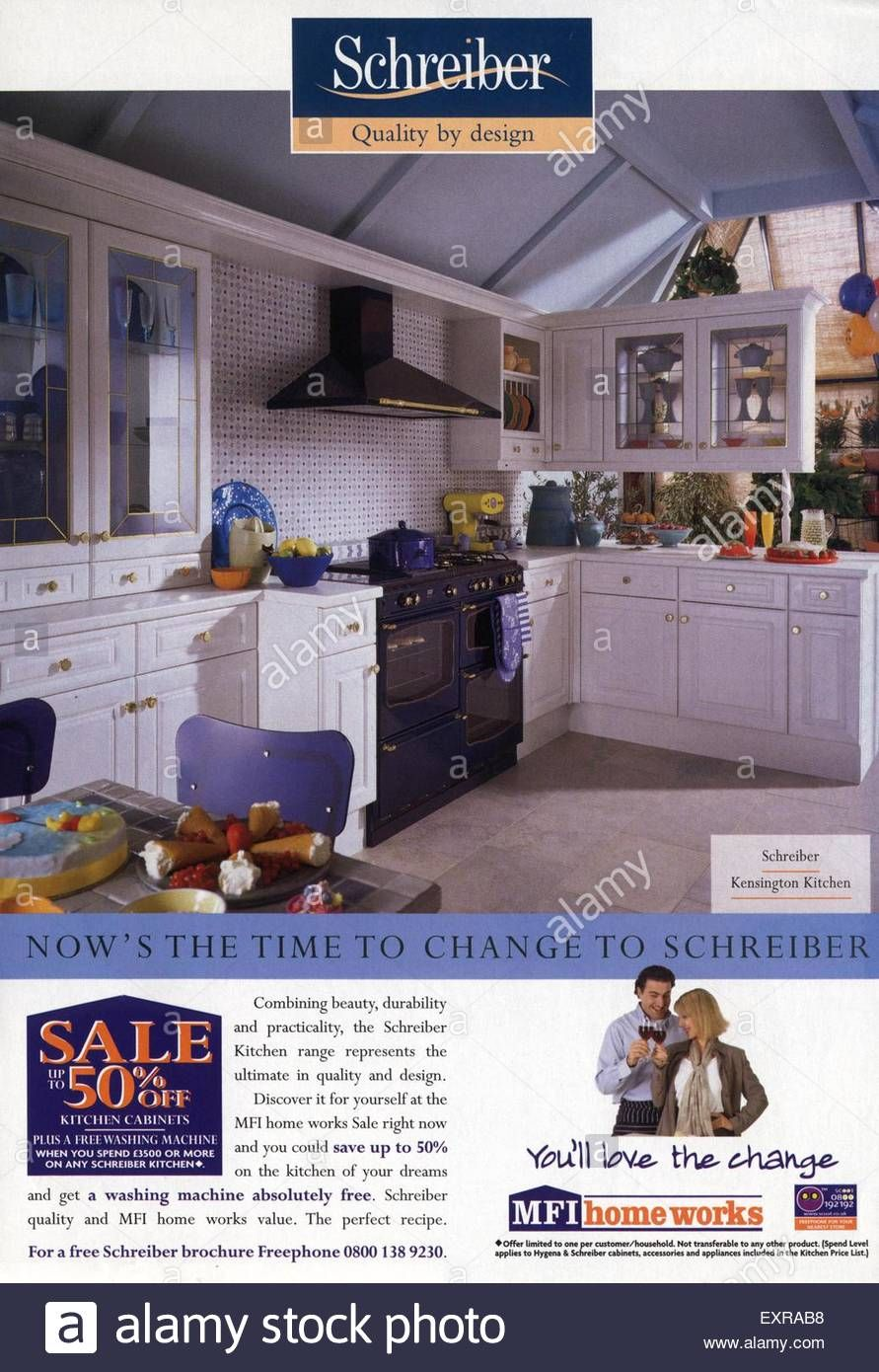1990s Uk Mfi Schreiber Furniture