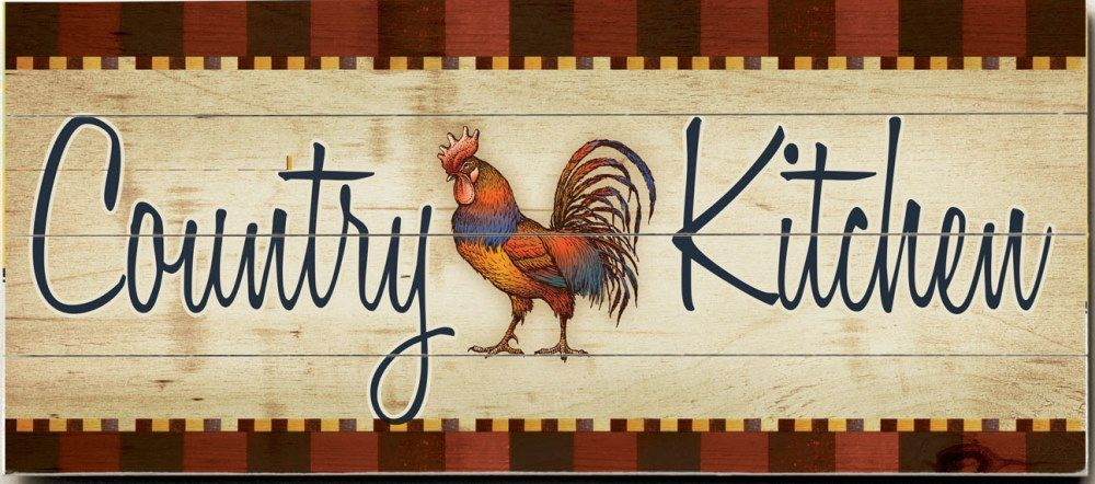Country Kitchen Custom Sign: Custom Vintage Signs