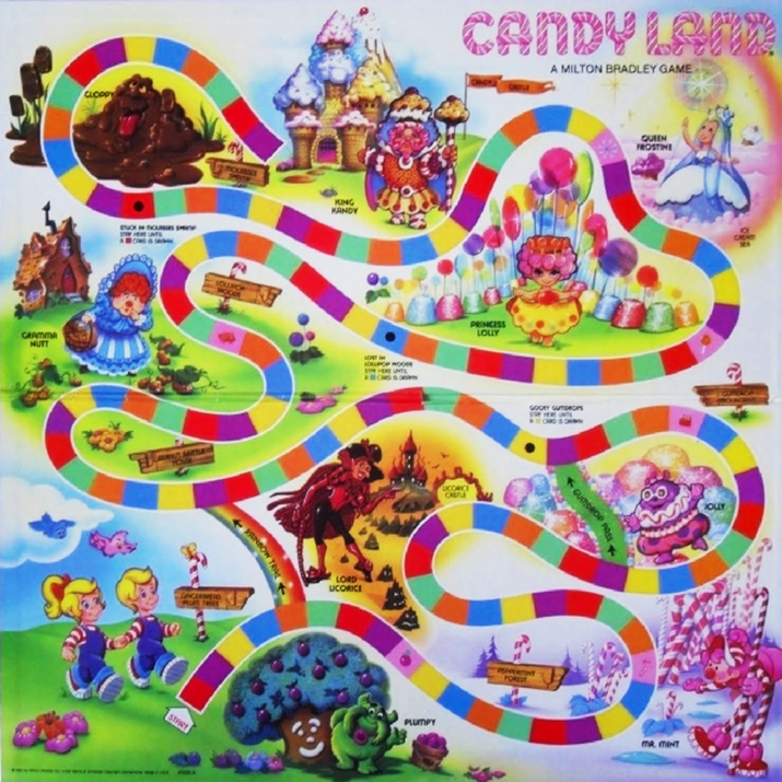 Candyland Party By Prettyaunt78 On Pinterest