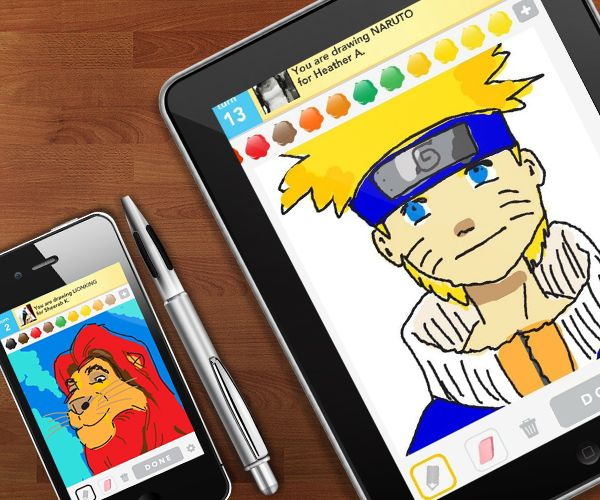 Few Online Game Benefits Draw Something Online Pinterest