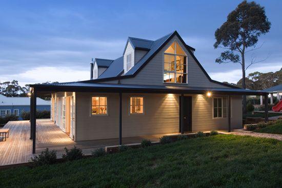 Alternate dwellings australian timber modular kit homes for Log cabin kit homes victoria