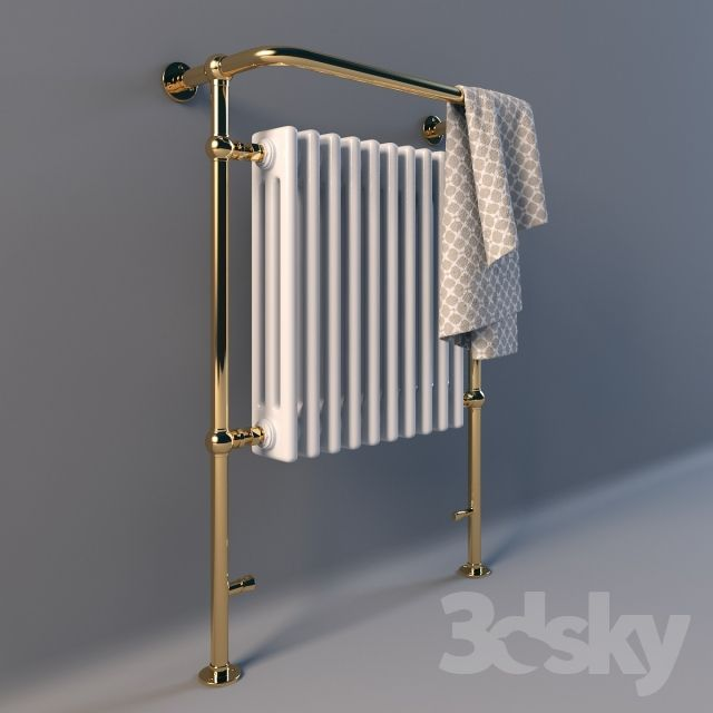 3d models: Towel rail - Heated towel outdoor LineaTre (Lineatre) / Italy
