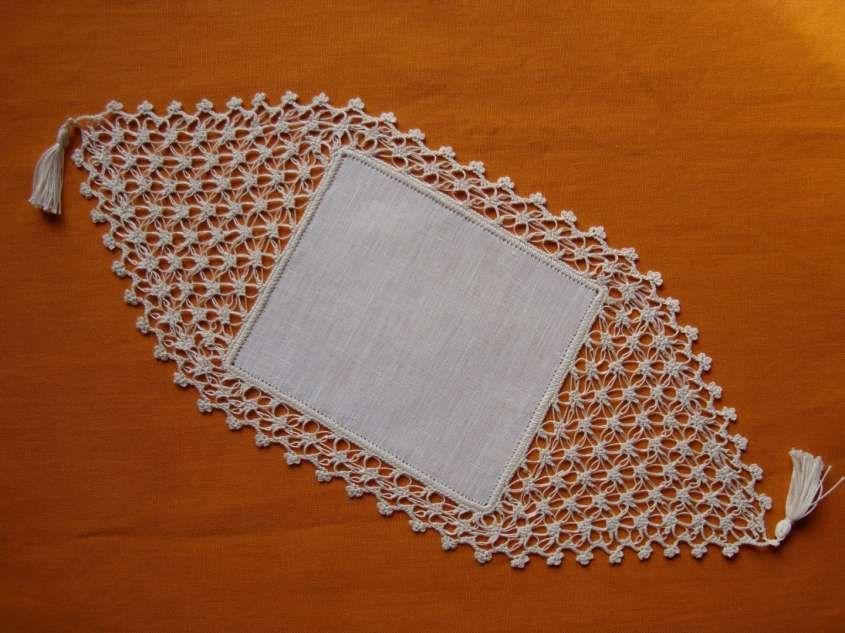 Centrini Alluncinetto Schemi E Foto Centrino A Rombo Crochet