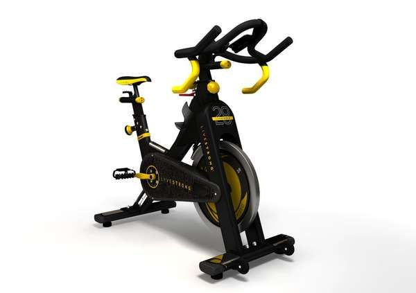 Shed Bulk With The Limited Edition Livestrong Ls28ic Indoor Trainer Transformers Trendhunter Com Best Exercise Bike Bike Exercise Bikes