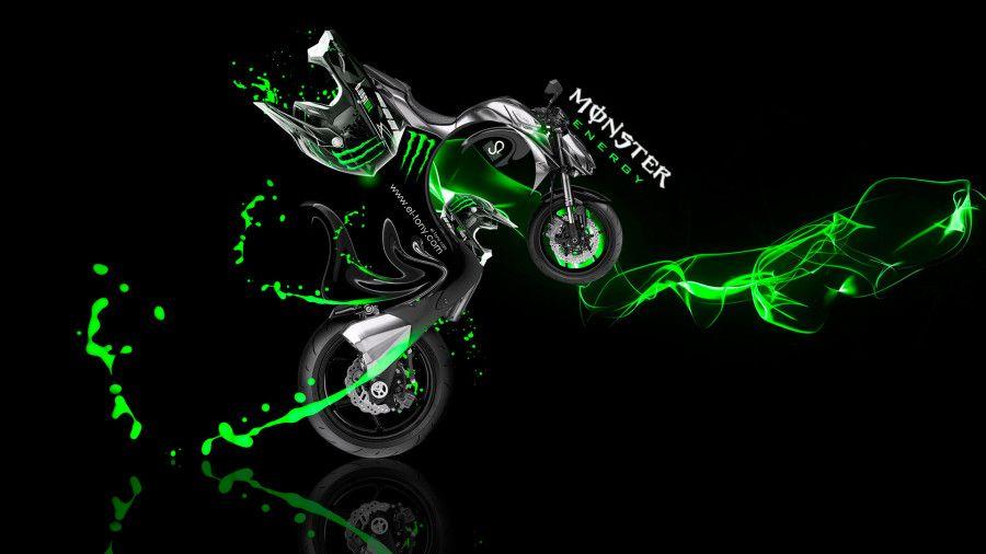 Monster Energy Kawasaki Z1000 Fantasy Plastic Bike 2014 Monster Energy Bike Drawing Kawasaki Z1000