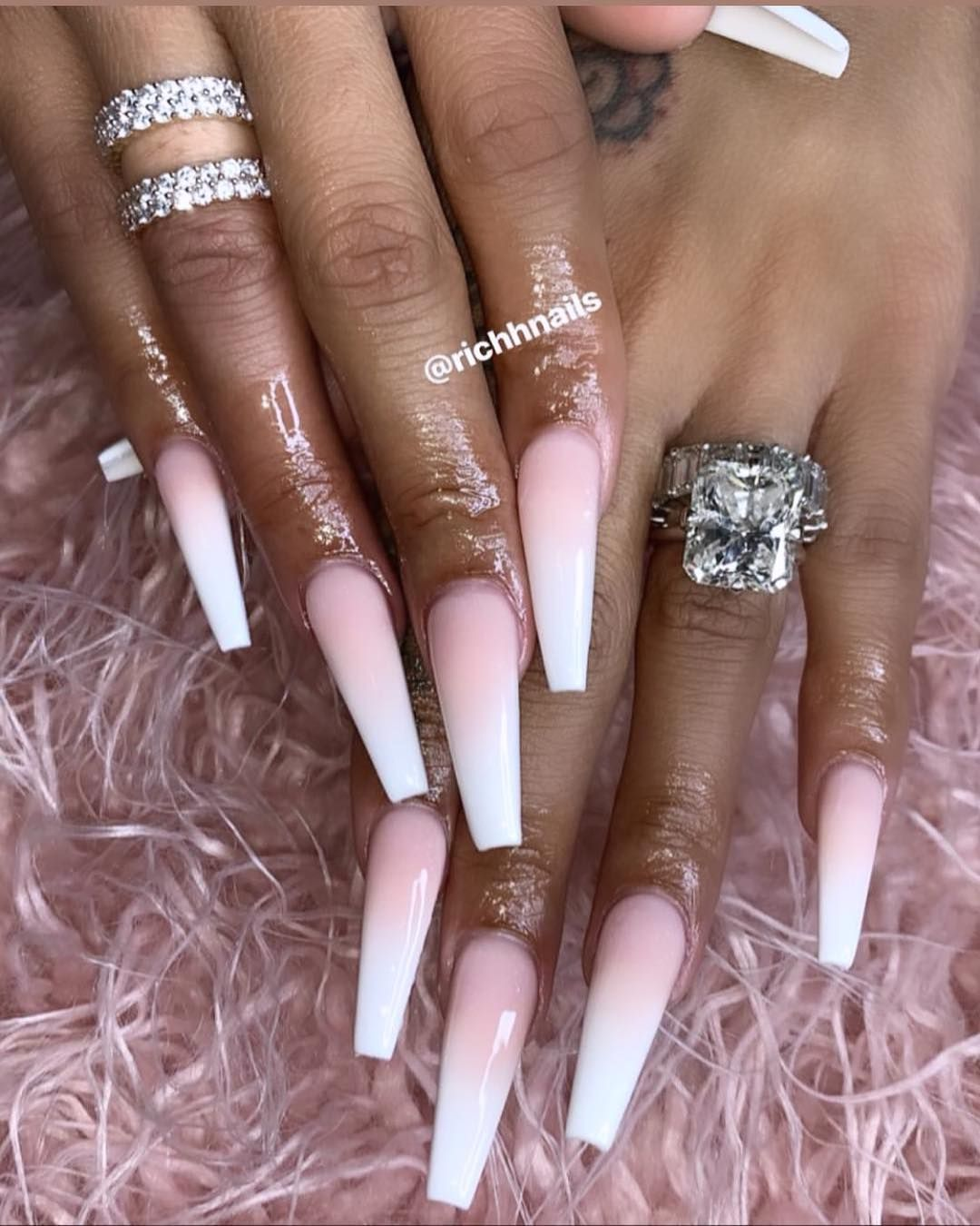 Lira Mercer On Instagram Newfind Met This Young Talented Nail Tech I Loveeeee My Nails Richhnails Atlant Simple Acrylic Nails Nail Shapes Nail Tips