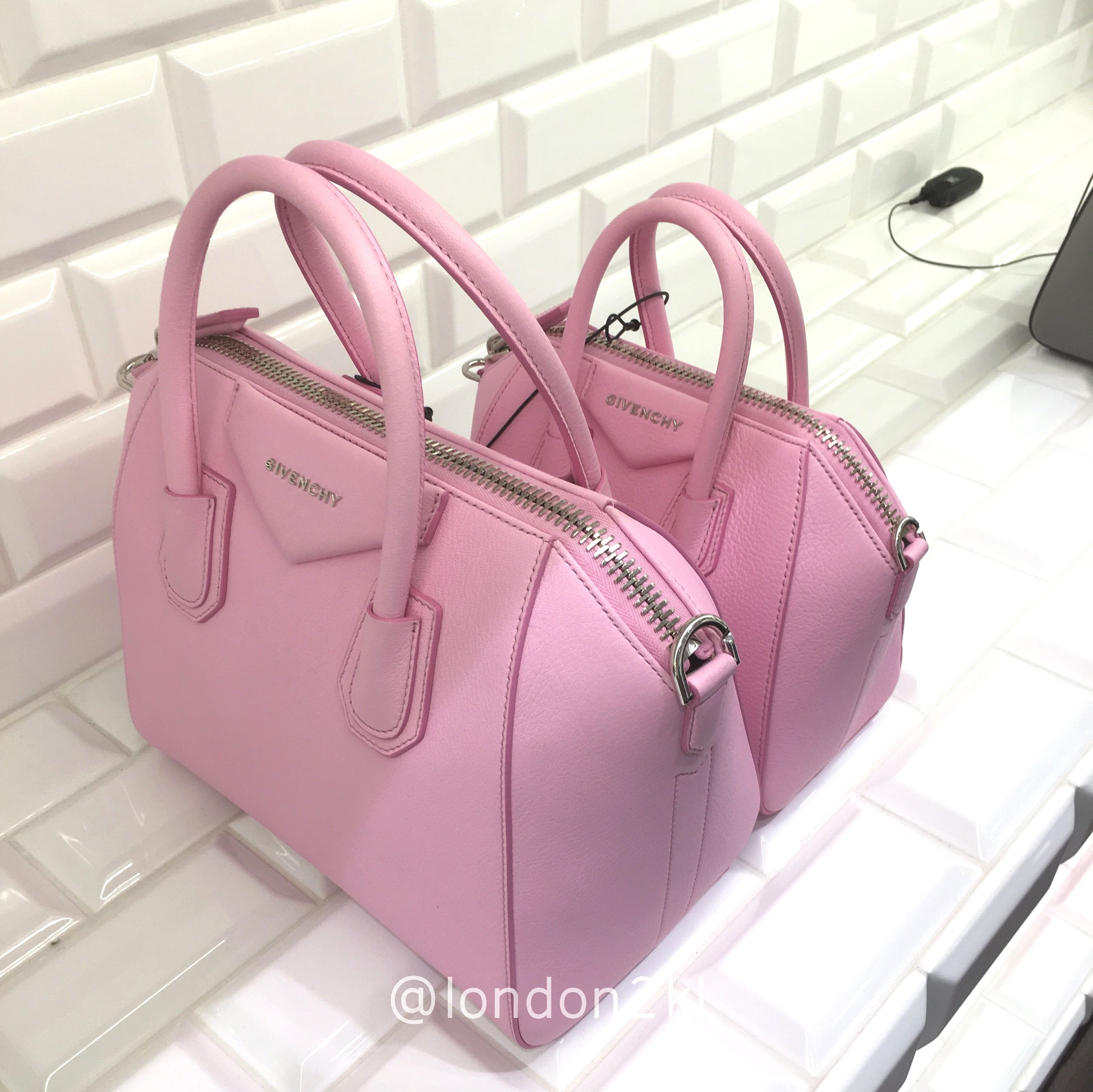 pink givenchy antigona