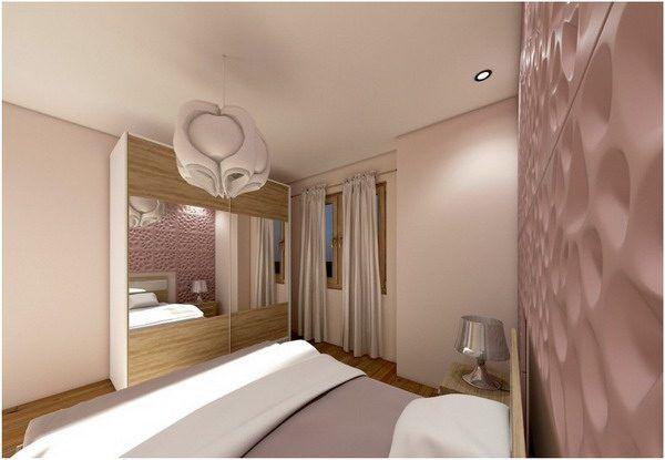 Altrosa Schlafzimmer Decor Ideen für Farbkombinationen