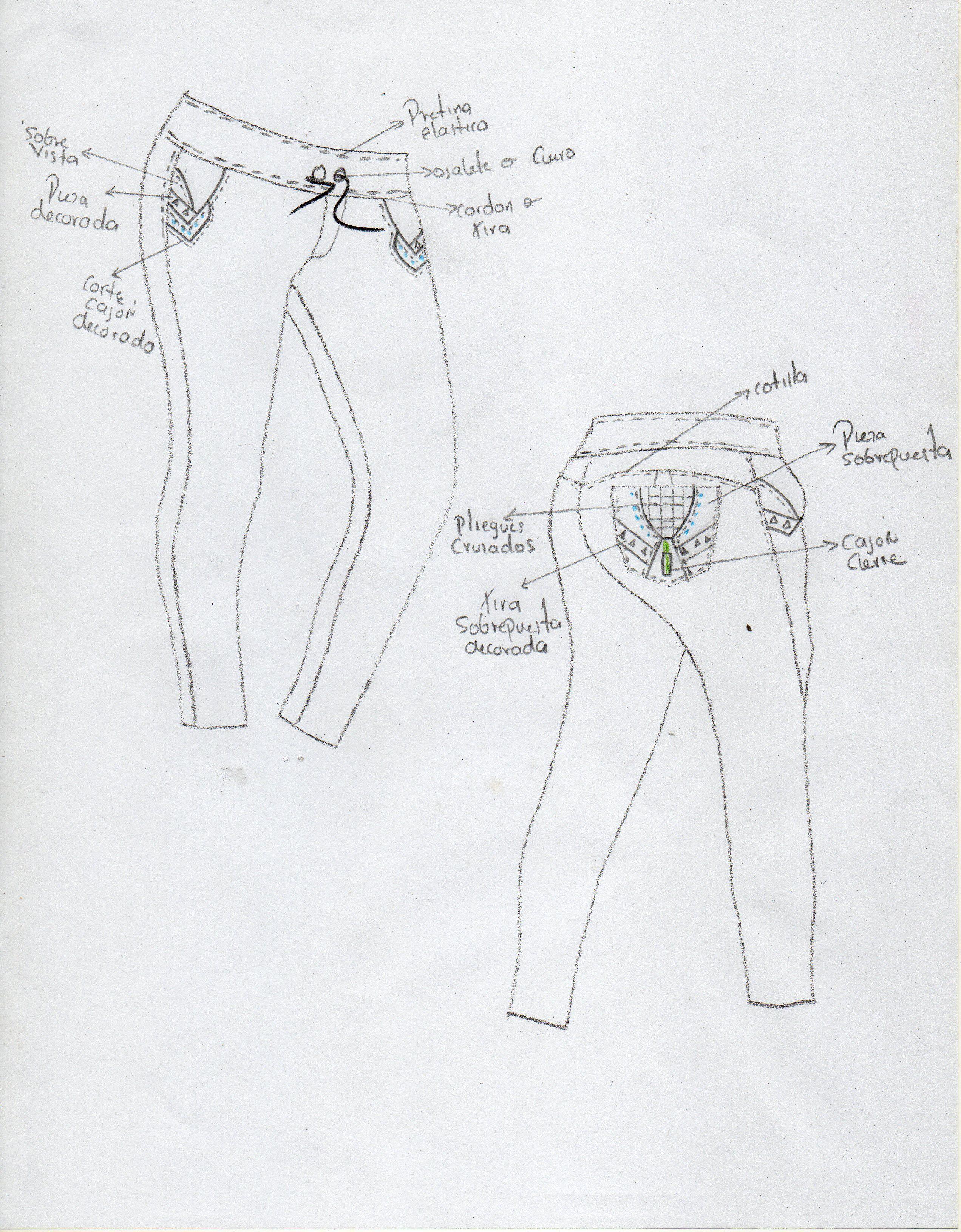 diseños de #pantalon jeans tipo jogger para mujer #modazeus ...