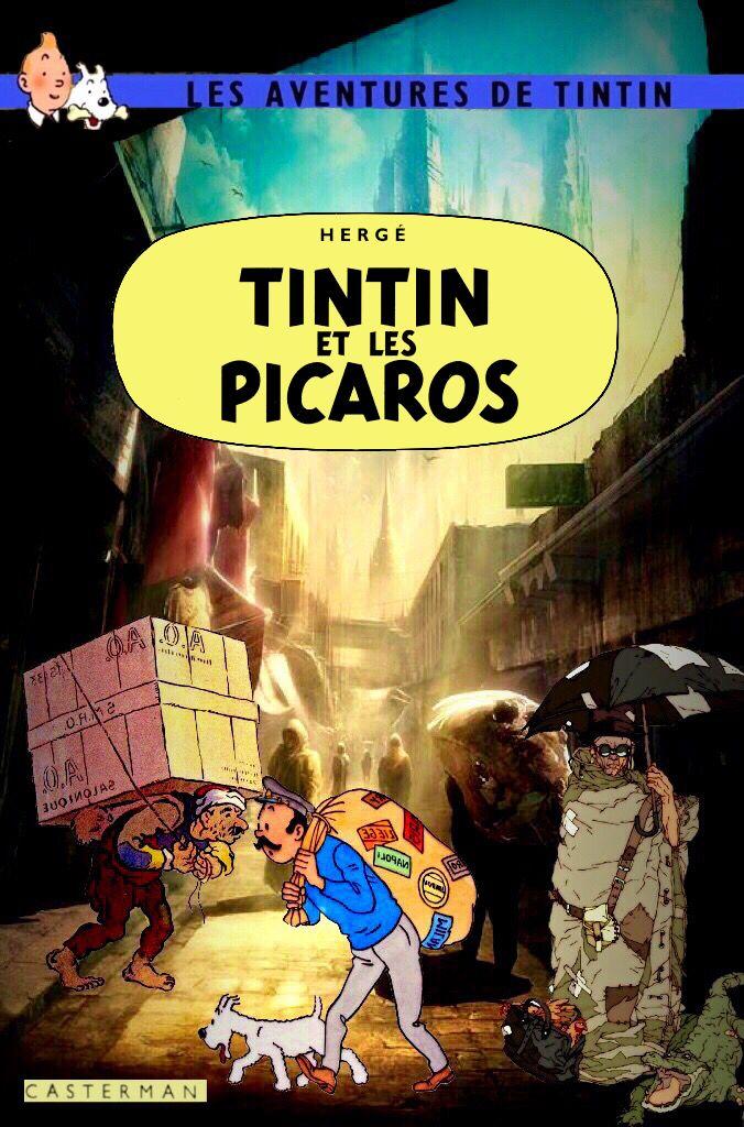Cheeky Tintin Parody Depicts The Beloved Adventurer