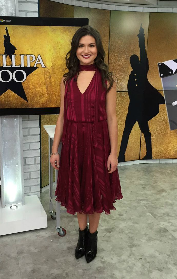 Phillipa Soo - The Today Show - Prabal Gurung